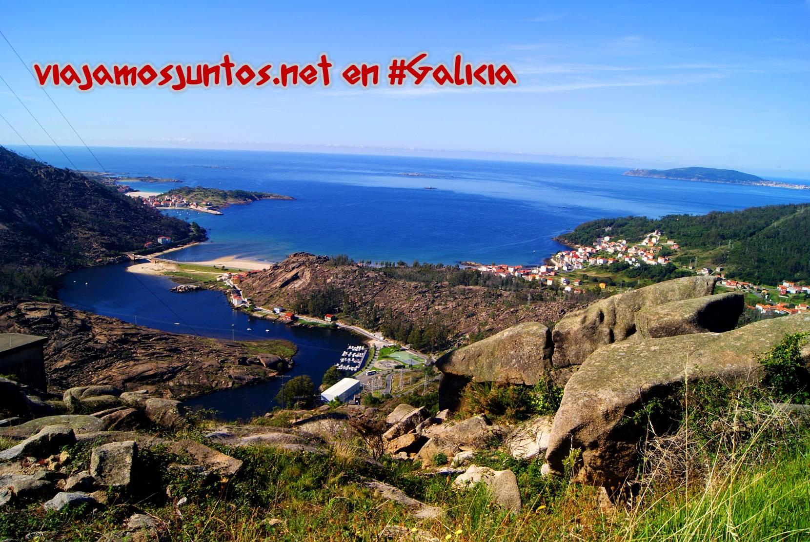 Mirador de Ézaro, Costa da Morte, Galicia; las vistas
