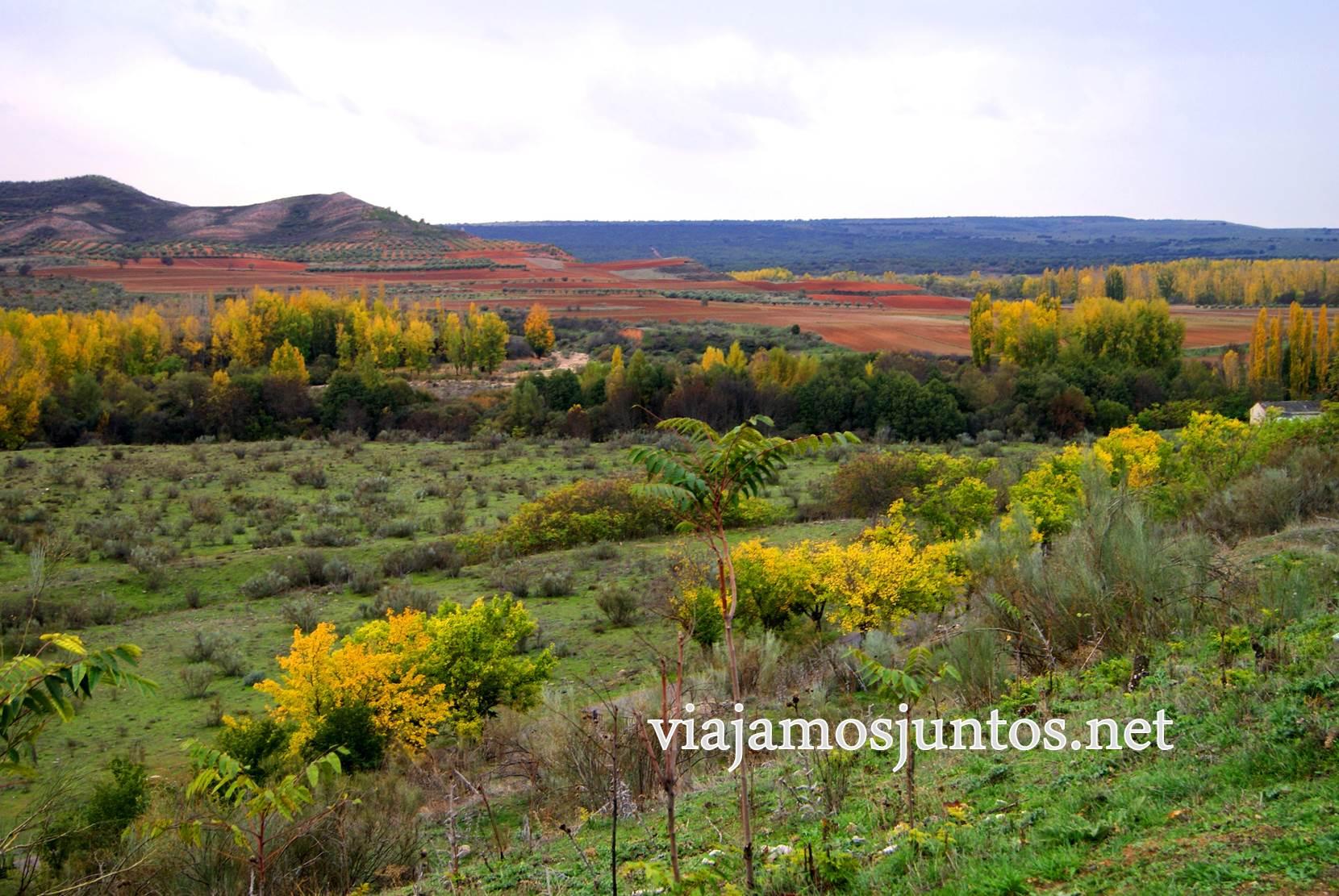 Ruta a las Cárcavas, Patones, Madrid; senderismo por sitios singulares de la Comunidad de Madrid; ruta