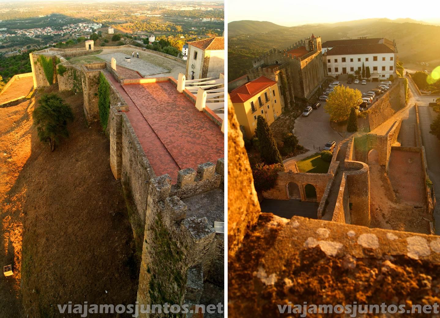 Castillo de Palmela, Portugal. Las vistas desde arriba