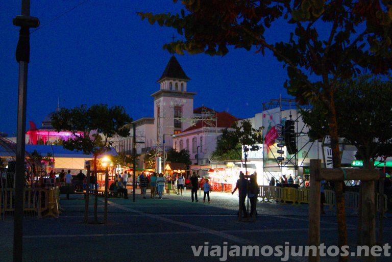 Vendimia en Palmela, paseando por las calles. Portugal