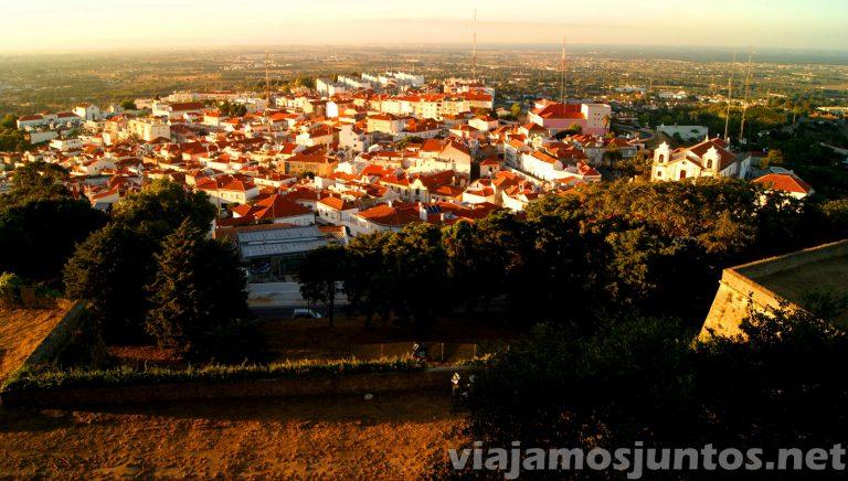 Castillo de Palmela, Portugal. Vistas al pueblo de Palmela
