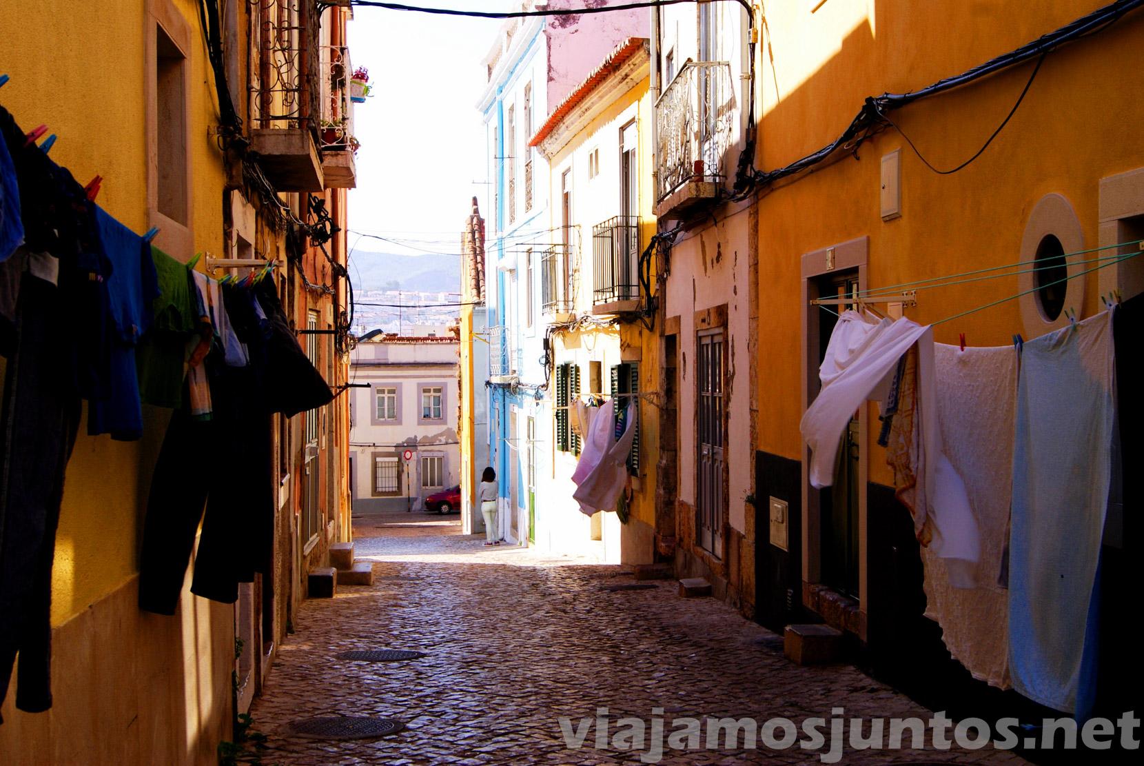 Las calles de Setubal, Portugal