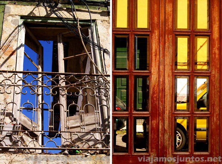 Las calles de Setubal, detalles y arte. Portugal