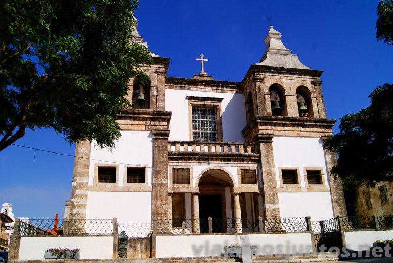 Iglesia de Santa María. Setubal, Portugal