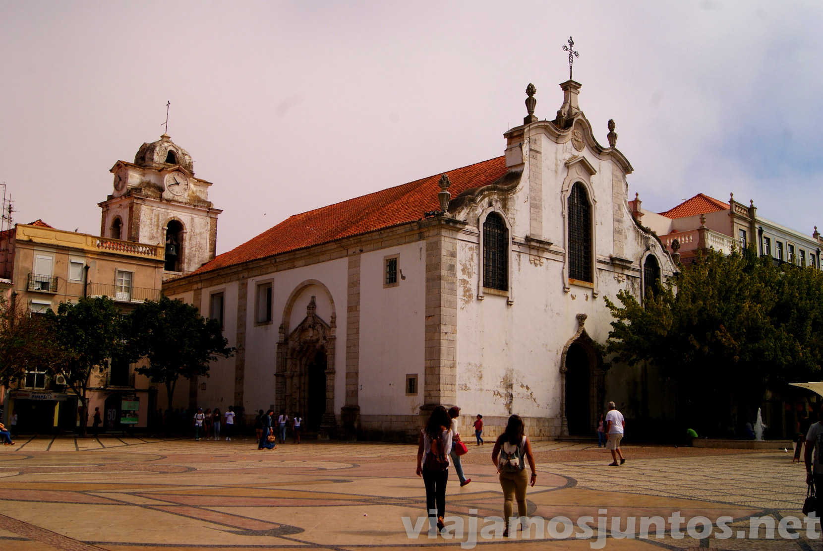 Iglesia central, Setubal, Portugal