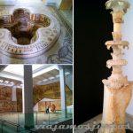La rica colección del Museo del Mosaico, Túnez