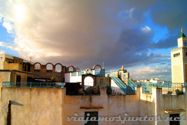 Túnez desde los tejados