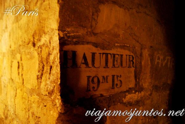 Nombres de las calles. París, Francia. Las Catacumbas de París