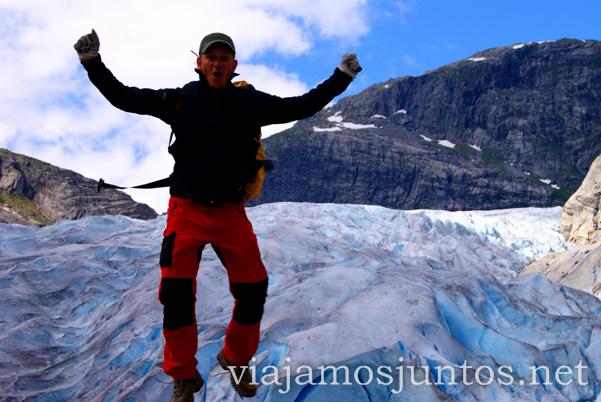 Noruega, glaciar. Viajamos Juntos, blog de Viajes