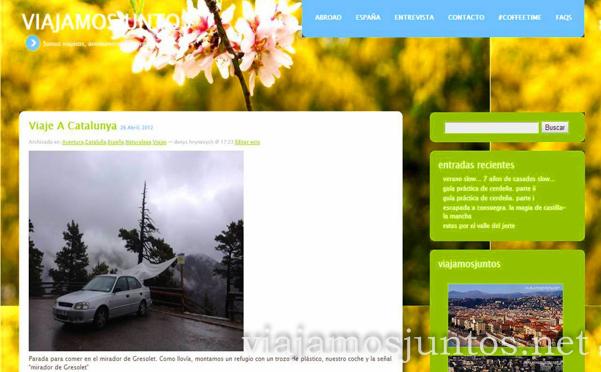 Nuestra primera entrada en el blog. Viajamos Juntos, blog de Viajes