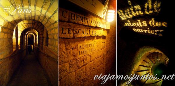 París, Francia. Las Catacumbas de París