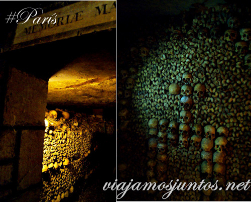 El arte subterráneo. París, Francia. Las Catacumbas de París