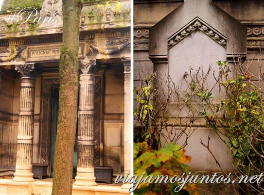 Tranquilidad y Belleza. Cementerios de París, Montmarte. Francia