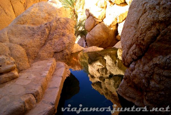 Oasis de Chebika. Tozeur, el Sur de Túnez.