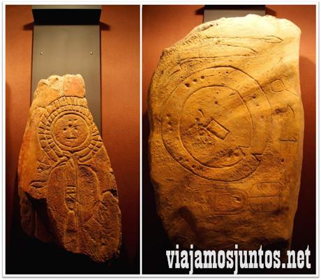 En el Centro de Arte Rupestre en Torrejón el Rubio. Arte Rupestre de Monfragüe