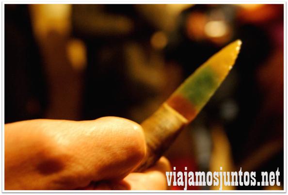 Un cuchillo prehistórico. Arte Rupestre de Monfragüe