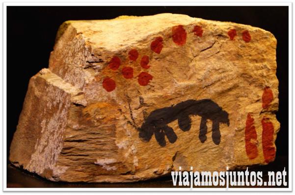¿Qué está dibujado en la roca? Arte Rupestre de Monfragüe
