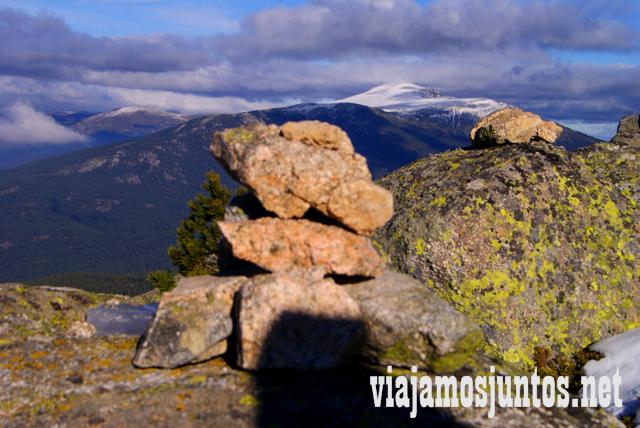 Oelakara desde Siete Picos, Ruta cirular de Siete Picos, Sierra de Guadarrama, Parque Nacional Guadarrama, Madrid y Castilla y León