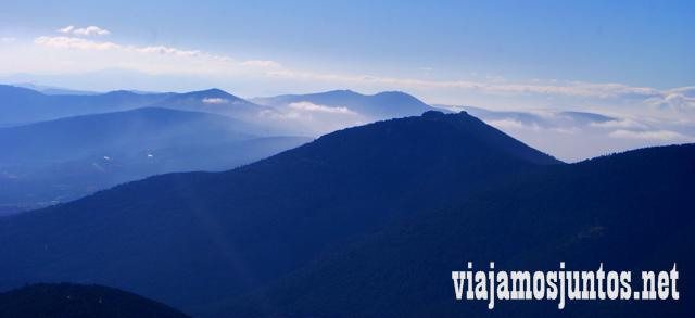 Vistas, sin más Ruta cirular de Siete Picos, Sierra de Guadarrama, Parque Nacional Guadarrama, Madrid y Castilla y León