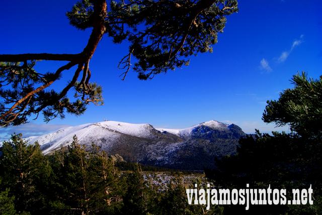 La Bola del Mundo, Ruta cirular de Siete Picos, Sierra de Guadarrama, Parque Nacional Guadarrama, Madrid y Castilla y León