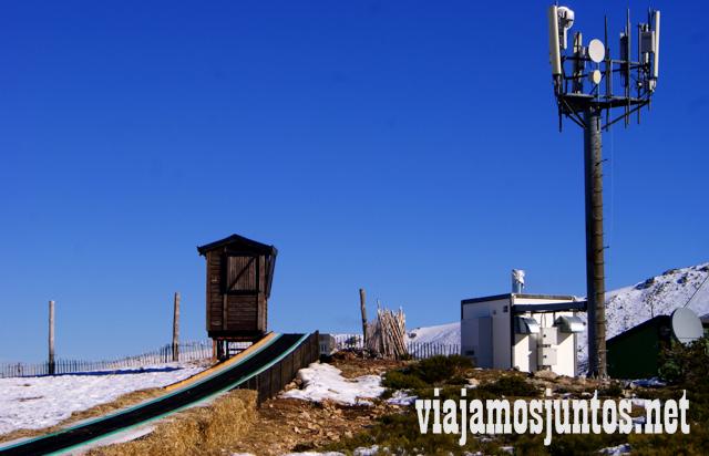 Primera subida. Ruta cirular de Siete Picos, Sierra de Guadarrama, Parque Nacional Guadarrama, Madrid y Castilla y León