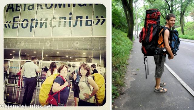 viajando con mochila