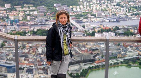 Vistas a Bergen, Noruega