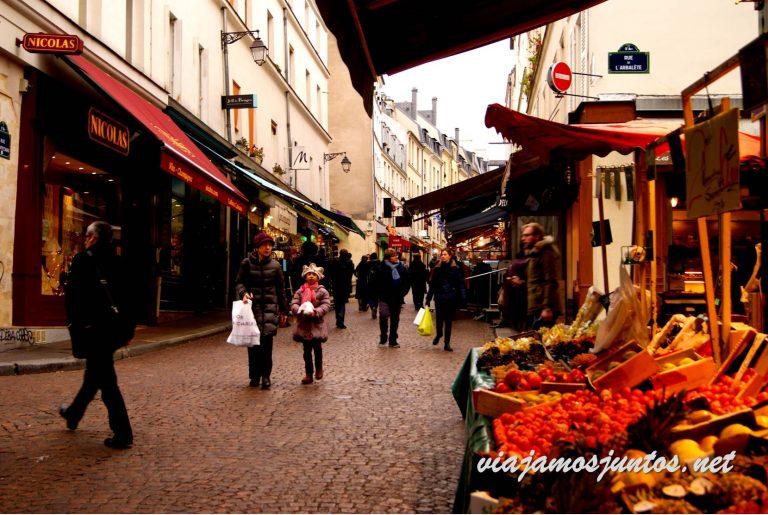 Calle Mouffetard, París