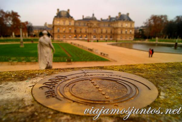 Jardín du Luxembourg París, Francia.