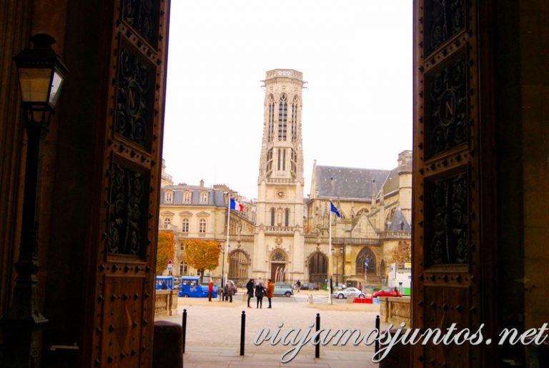 Iglesia de Saint Germain de L'Auxerrois, París, Francia. París, que ver y que hacer en cuatro días
