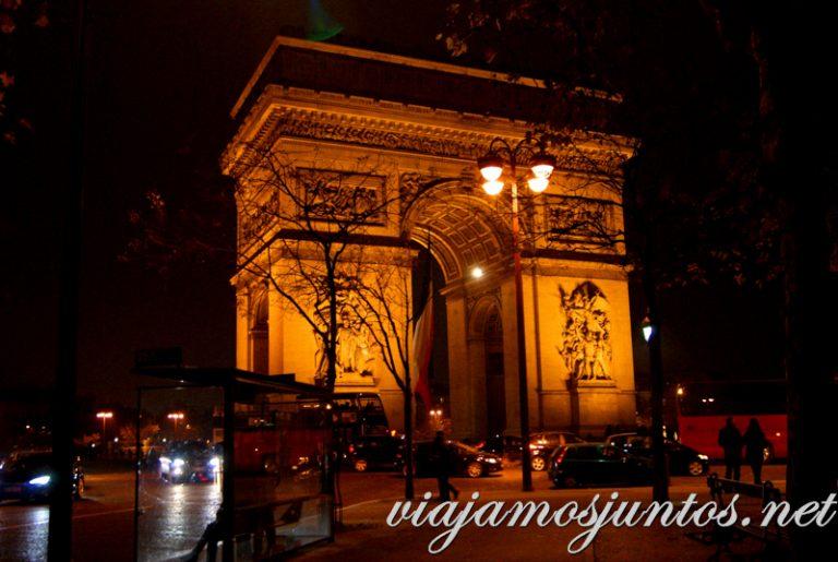 El Arco de Triunfo. París, que ver y que hacer en cuatro días