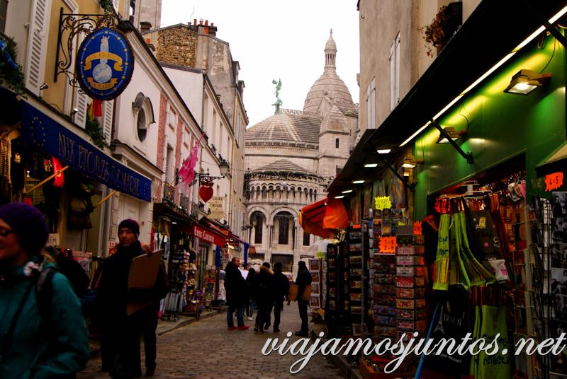 Montmartre. París, que ver y que hacer en cuatro días