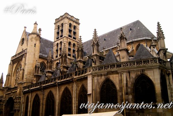 Iglesia de Saint Germain de L'Auxerrois, París, Francia.