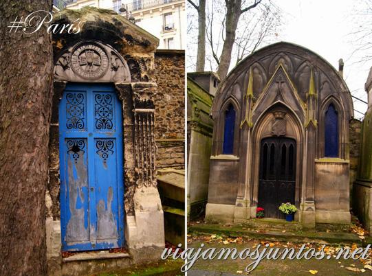 Cementerios de París, Montmarte. Francia