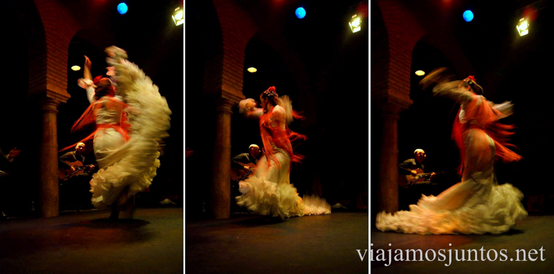 Movimiento... Museo del Baile Flamenco. Sevilla #SevillaInside