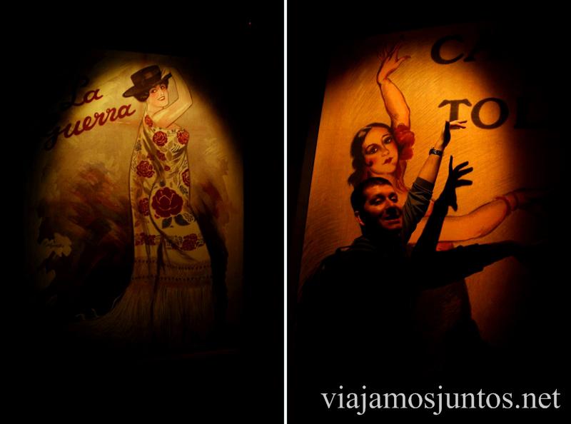 Denys aprendiendo la historia de flamenco... Museo del Baile Flamenco. Sevilla #SevillaInside