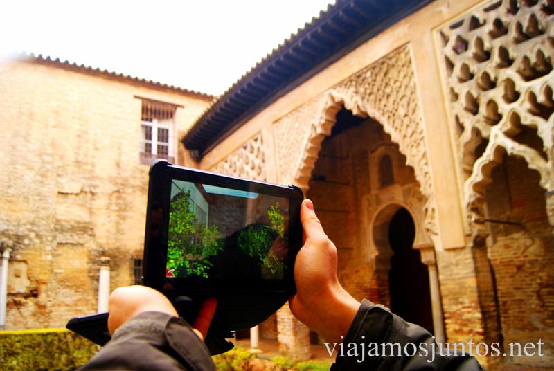 El patio a través del 3D Que ver y que hacer en Sevilla durante un fin de semana. Sevilla Inside