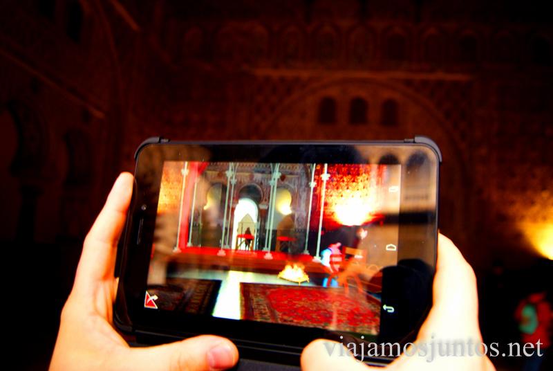 La Sala del Trono con 3D Que ver y que hacer en Sevilla durante un fin de semana. Sevilla Inside