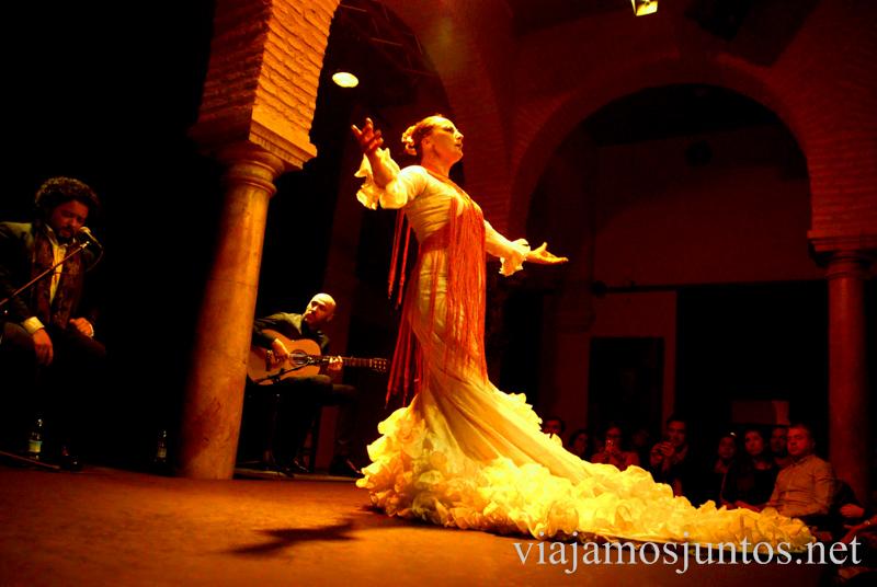 Espectáculo de flamenco en el museo de Flamenco Que ver y que hacer en Sevilla durante un fin de semana. Sevilla Inside