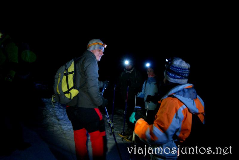 No me preguntéis en qué punto de la ruta estamos... Que hacer en la Sierra de Guadarrama, donde alojarse y comer