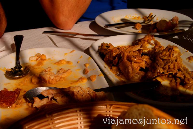 Bar Porfirio, Rascafría Que hacer en la Sierra de Guadarrama, donde alojarse y comer