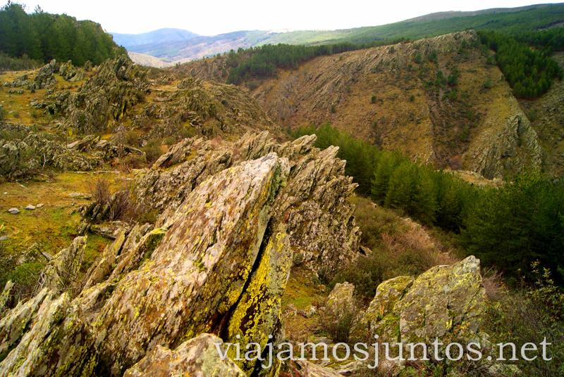 Roca puntiaguda Pueblos con encanto de la Sierra Norte de Madrid, Puebla de la Sierra, la Hiruela