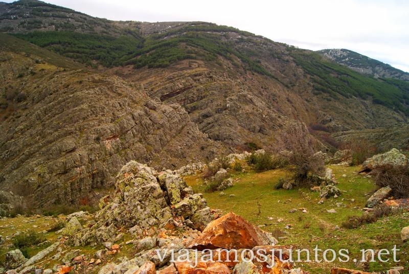 La forma de la montaña - fantasía natural Pueblos con encanto de la Sierra Norte de Madrid, Puebla de la Sierra, la Hiruela