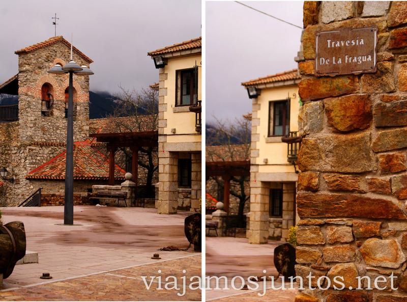 Estampas de la Puebla de la Sierra Pueblos con encanto de la Sierra Norte de Madrid, Puebla de la Sierra, la Hiruela