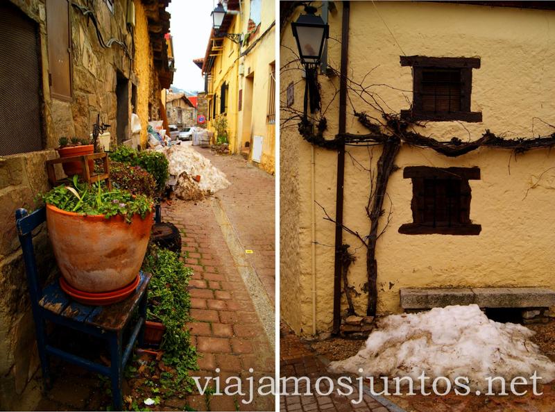 ¿Alguien necesita nieve? Pueblos con encanto de la Sierra Norte de Madrid, Puebla de la Sierra, la Hiruela