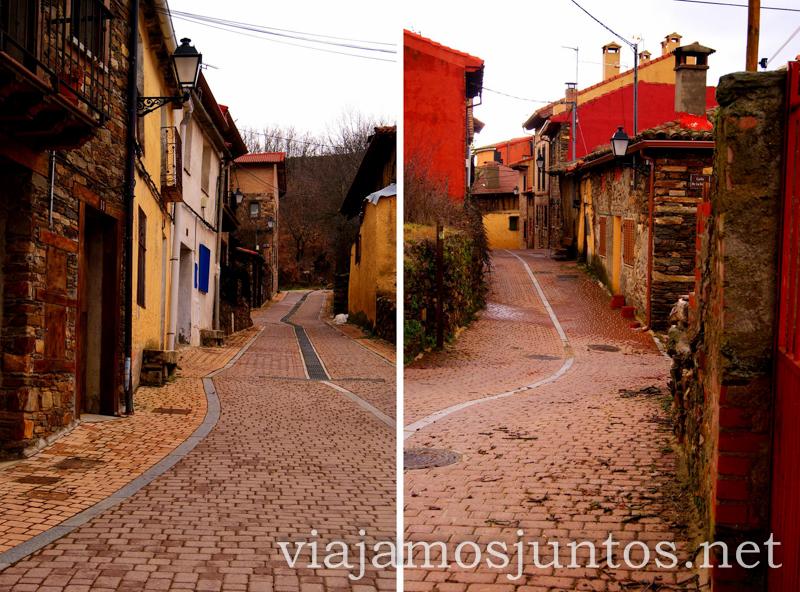 Calles de la Puebla de la Sierra Pueblos con encanto de la Sierra Norte de Madrid, Puebla de la Sierra, la Hiruela