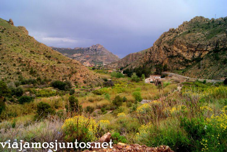 Vistas del Valle de Ricote Ruta en coche por el Valle de Ricote, Murcia. Pasado islámico