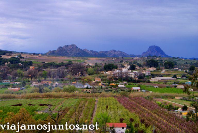 Vistas desde la ermita, Cieza Ruta en coche por el Valle de Ricote, Murcia. Pasado islámico