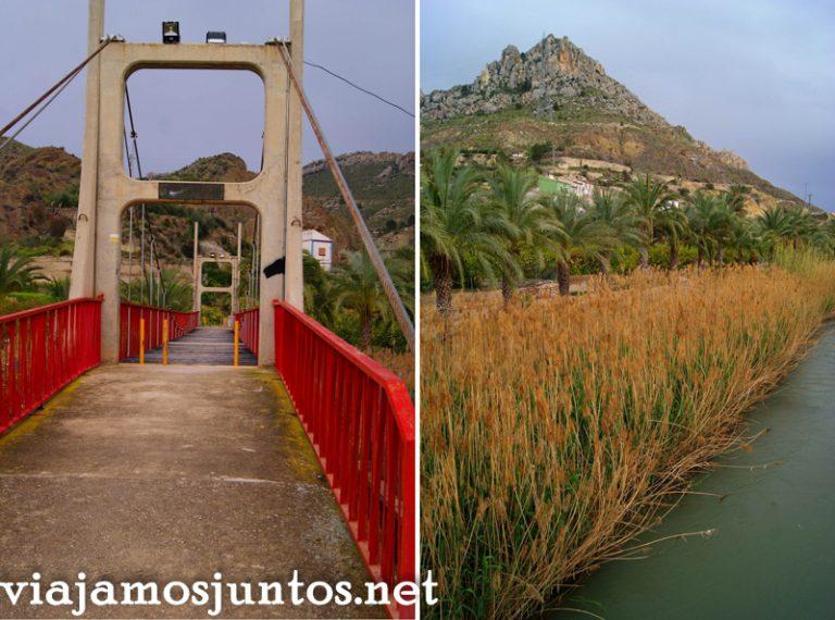 Paseo entre las palmeras, Ojós Ruta en coche por el Valle de Ricote, Murcia. Pasado islámico