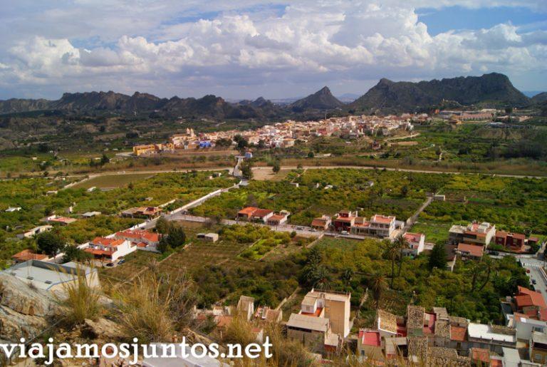 Vistas al Valle de Ricote Ruta en coche por el Valle de Ricote, Murcia. Pasado islámico